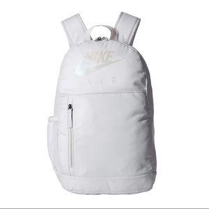 🌸 NIKE Backpack School Gym Bag NWT Chrome New